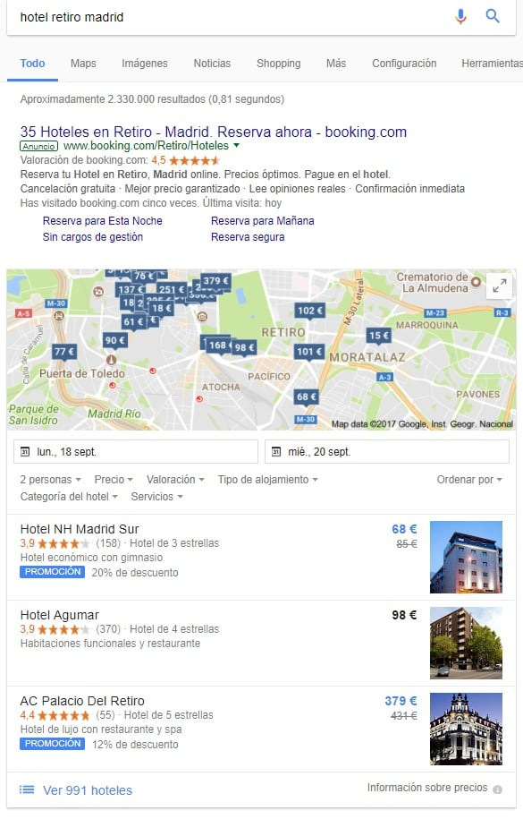 Google Hotel Ads Commission Program