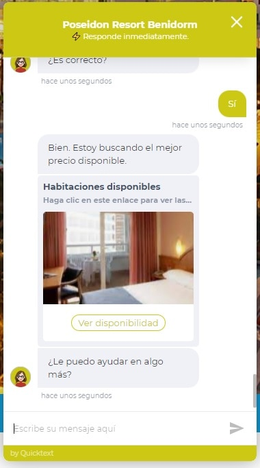CHATBOT HOTELES